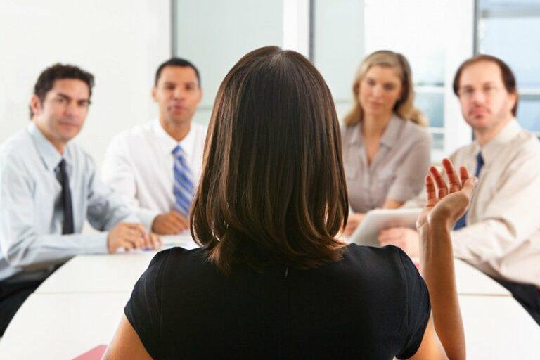 female office leader